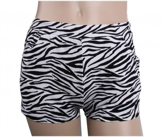 Ladies hotpants leopard
