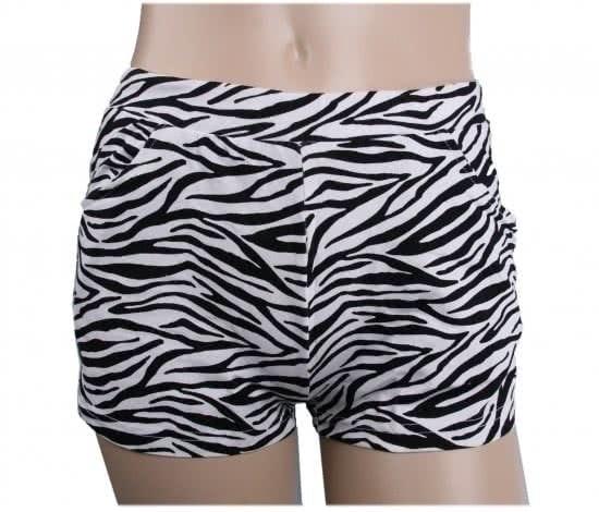 Ladies hotpants leopard