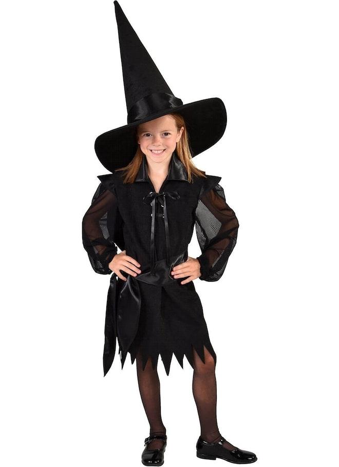 Halloween jurk zwart