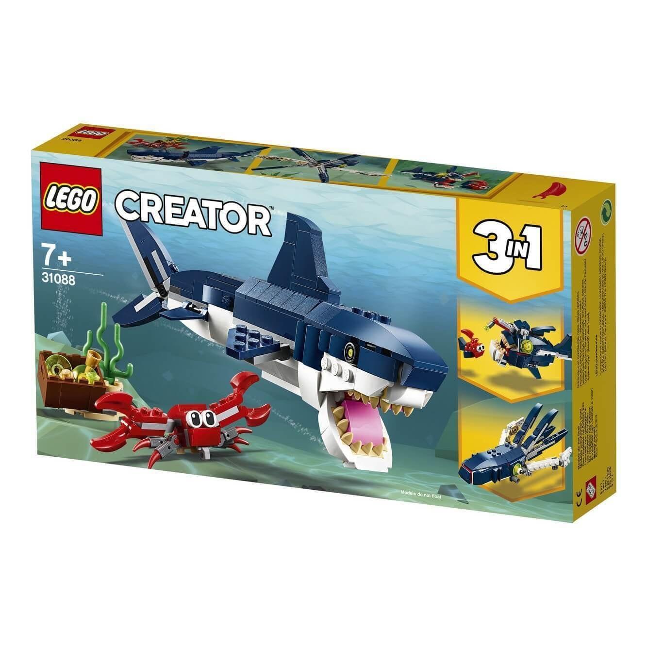 Lego 31088 Creator Diepzee Dieren