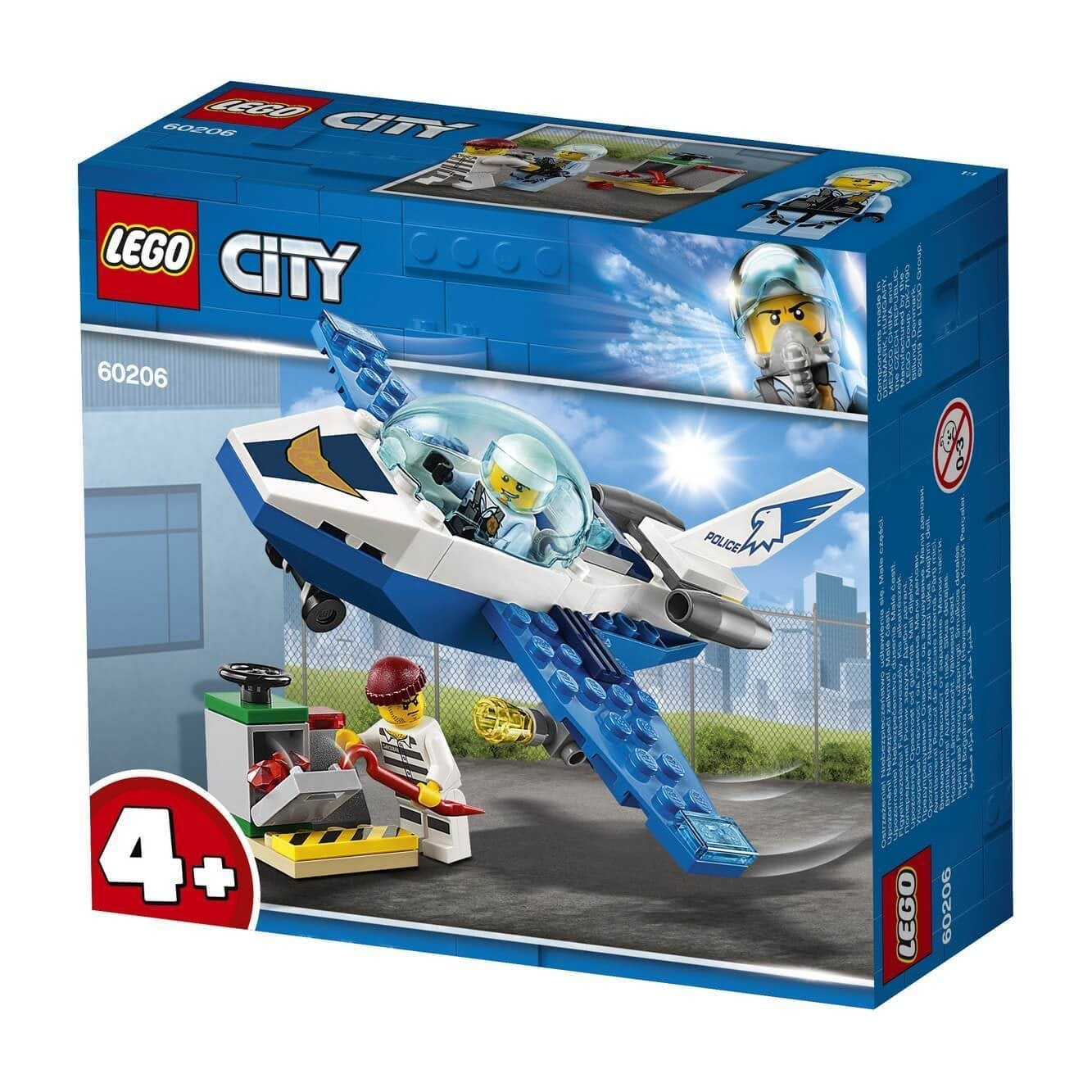 Lego 60206 City Luchtpolitie Jet
