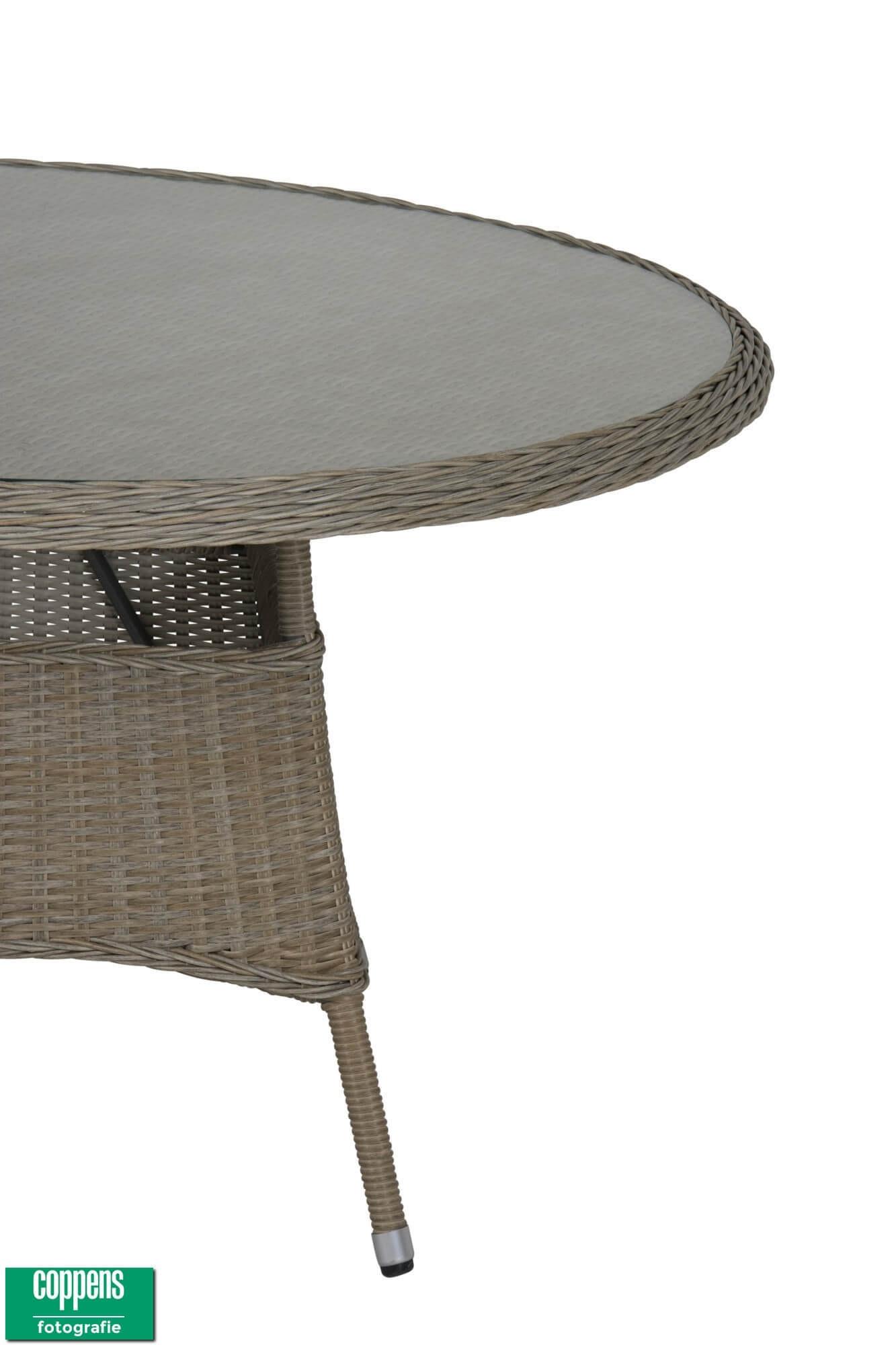 Felina tafel 130 cm rond dessert