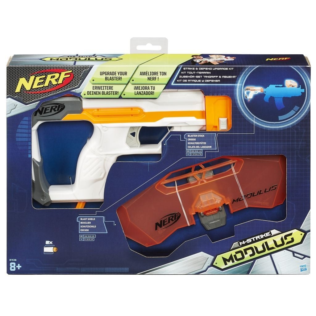 NERF Modules Strike and Defend kit