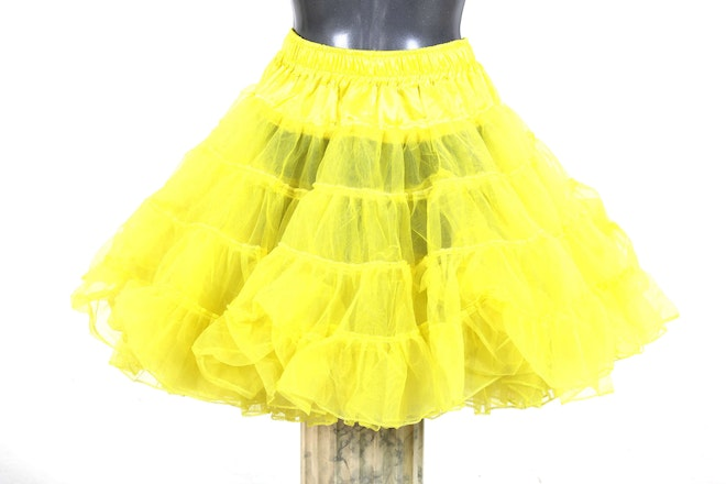 petticoat long geel