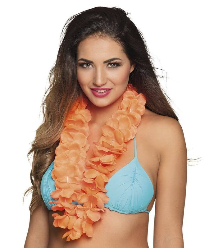 Hawaikrans ohana oranje