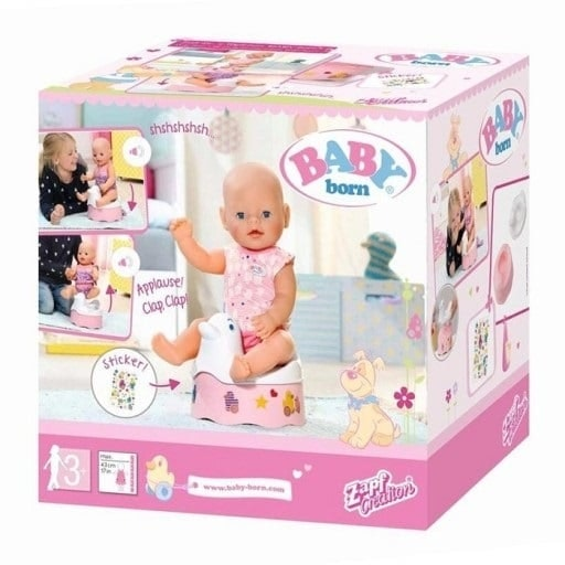 Baby Born Interactive Potty New