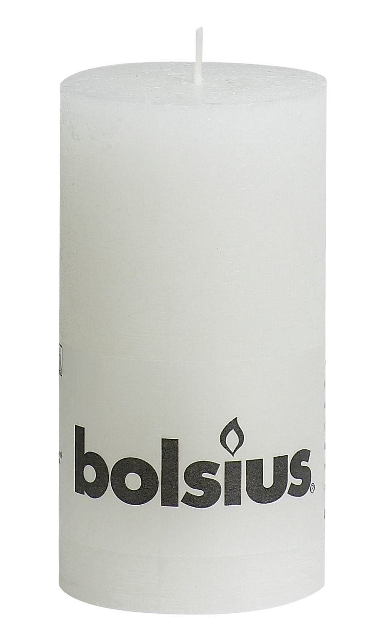 Bolsius Stompkaars 130-68 Wit Stuk