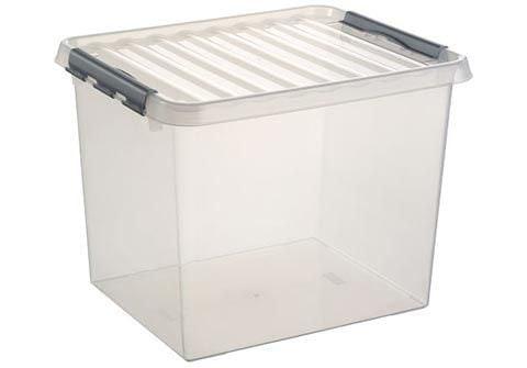 Sunware Q-line opbergbox 52 liter transparant