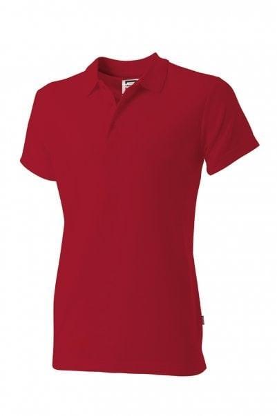 Poloshirt slim-fit dames Red