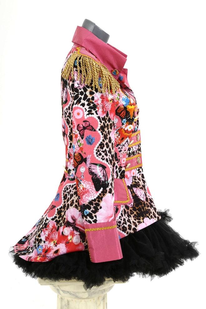 Damesjas roze panter kort