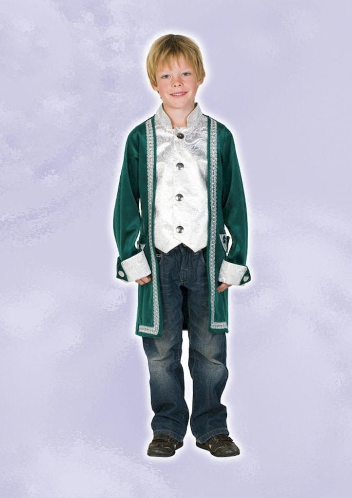 Renaissance jas donker groen op=op