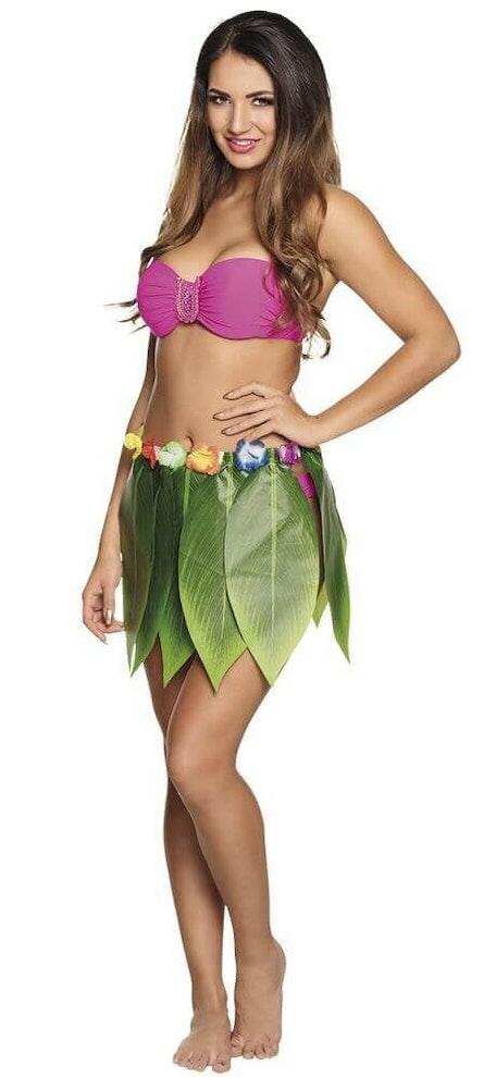 Hawaii rokje palmblad