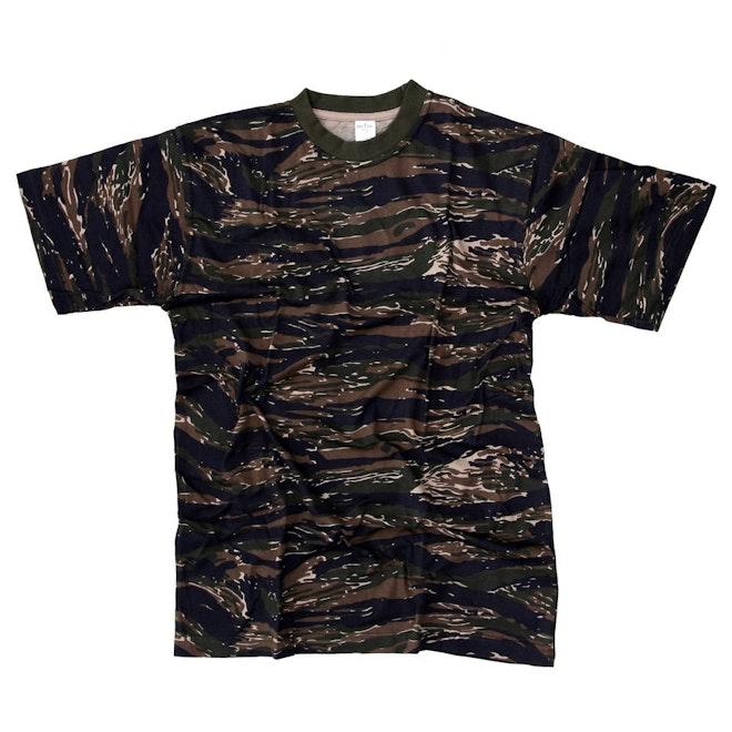 Tiger stripe kinder shirt