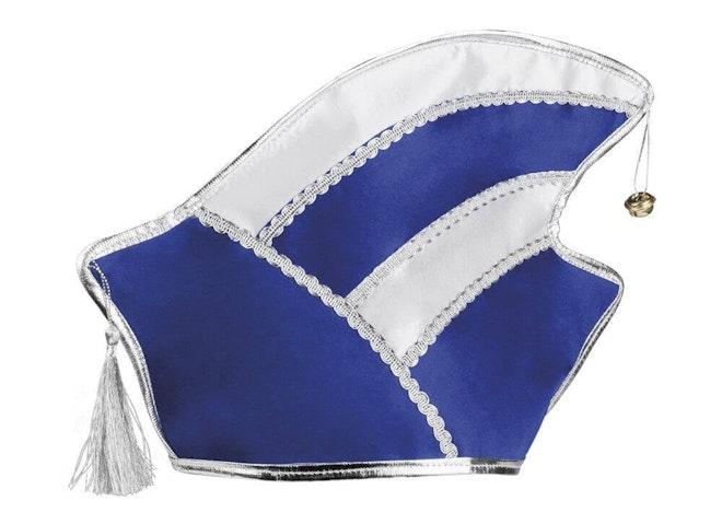 Hoed Comite blauw/wit