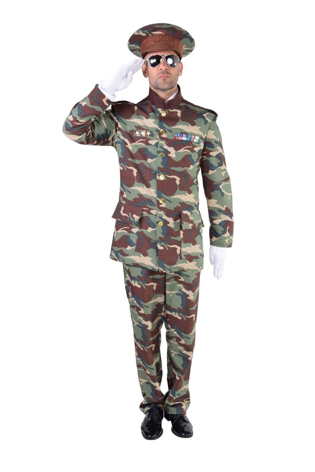 Officier camouflage