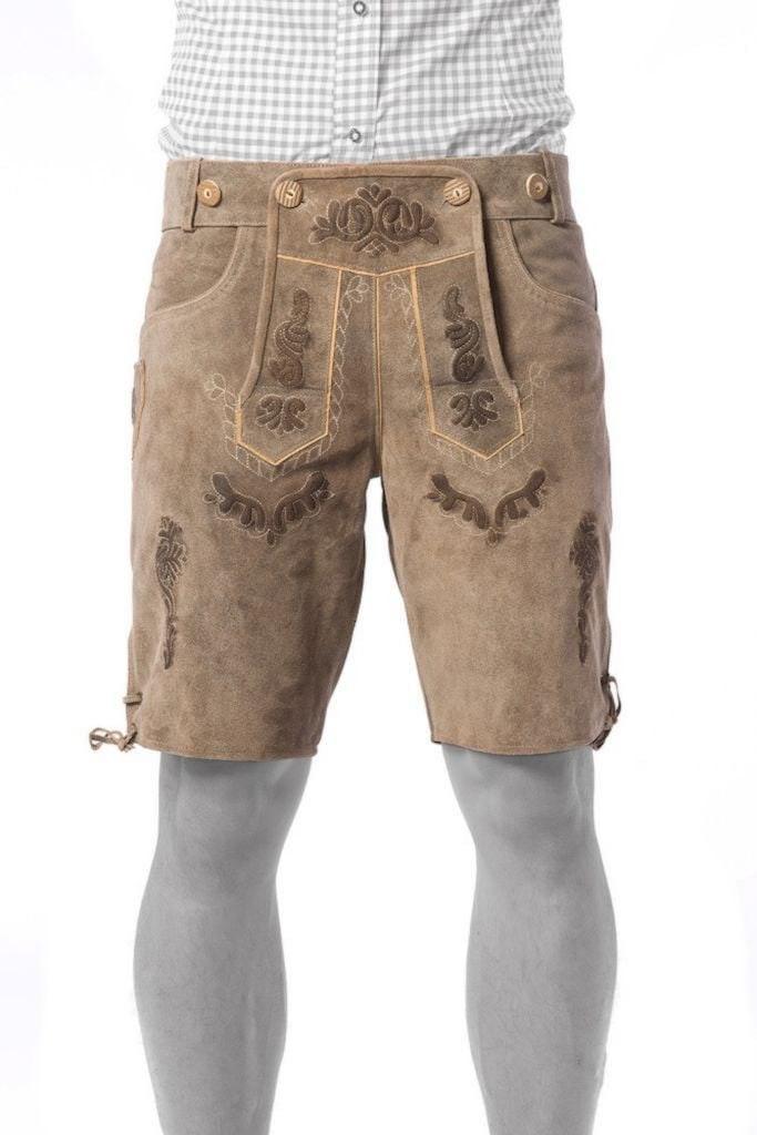 Lederhose Vintage short