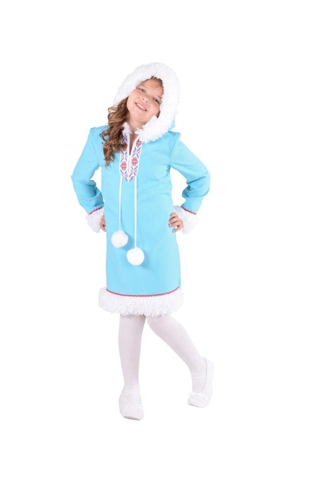Eskimo meisje op=op
