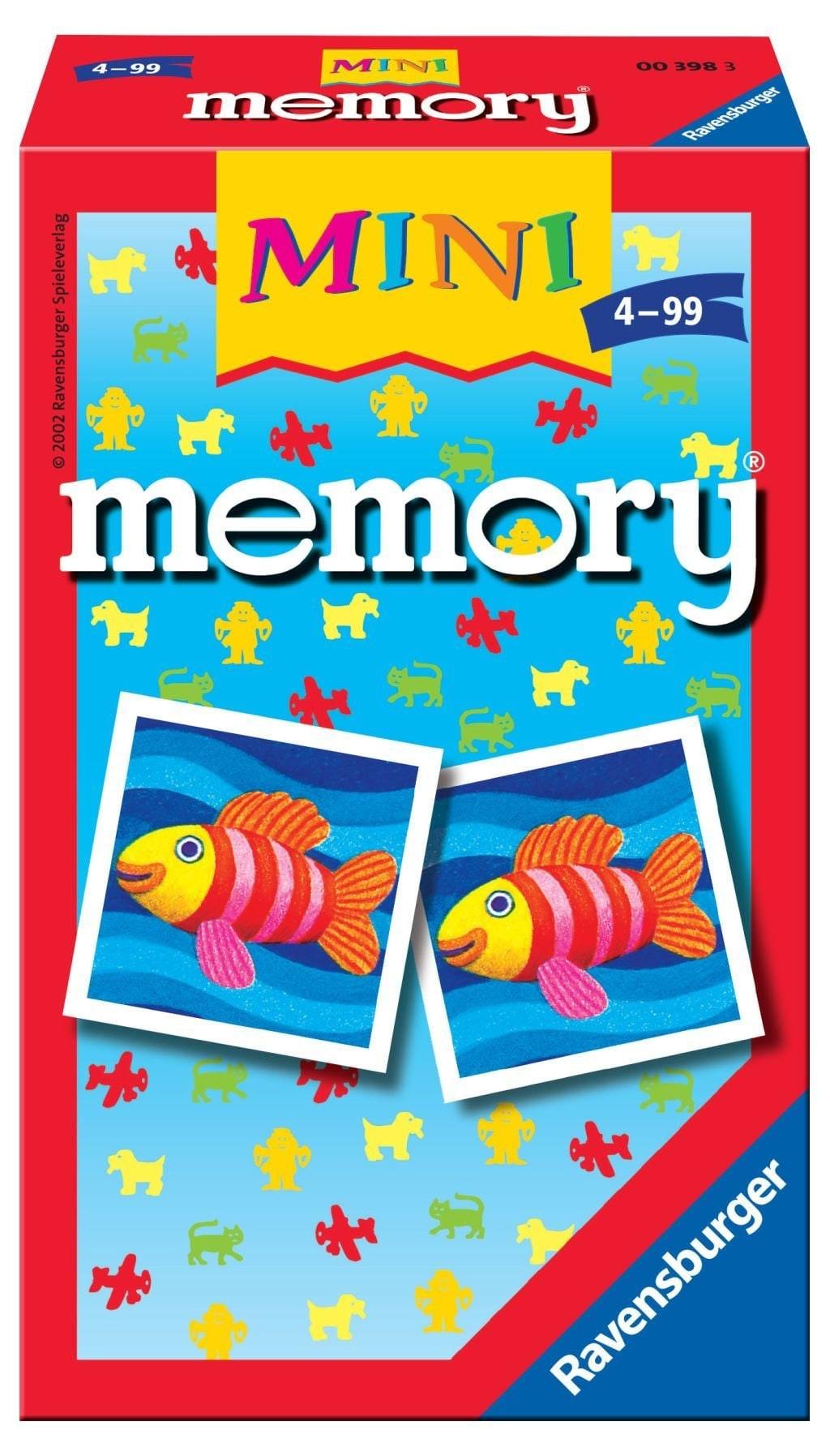 Memory pocketspel Origineel