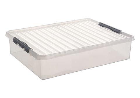 Sunware Q-line opbergbox 60 liter transparant