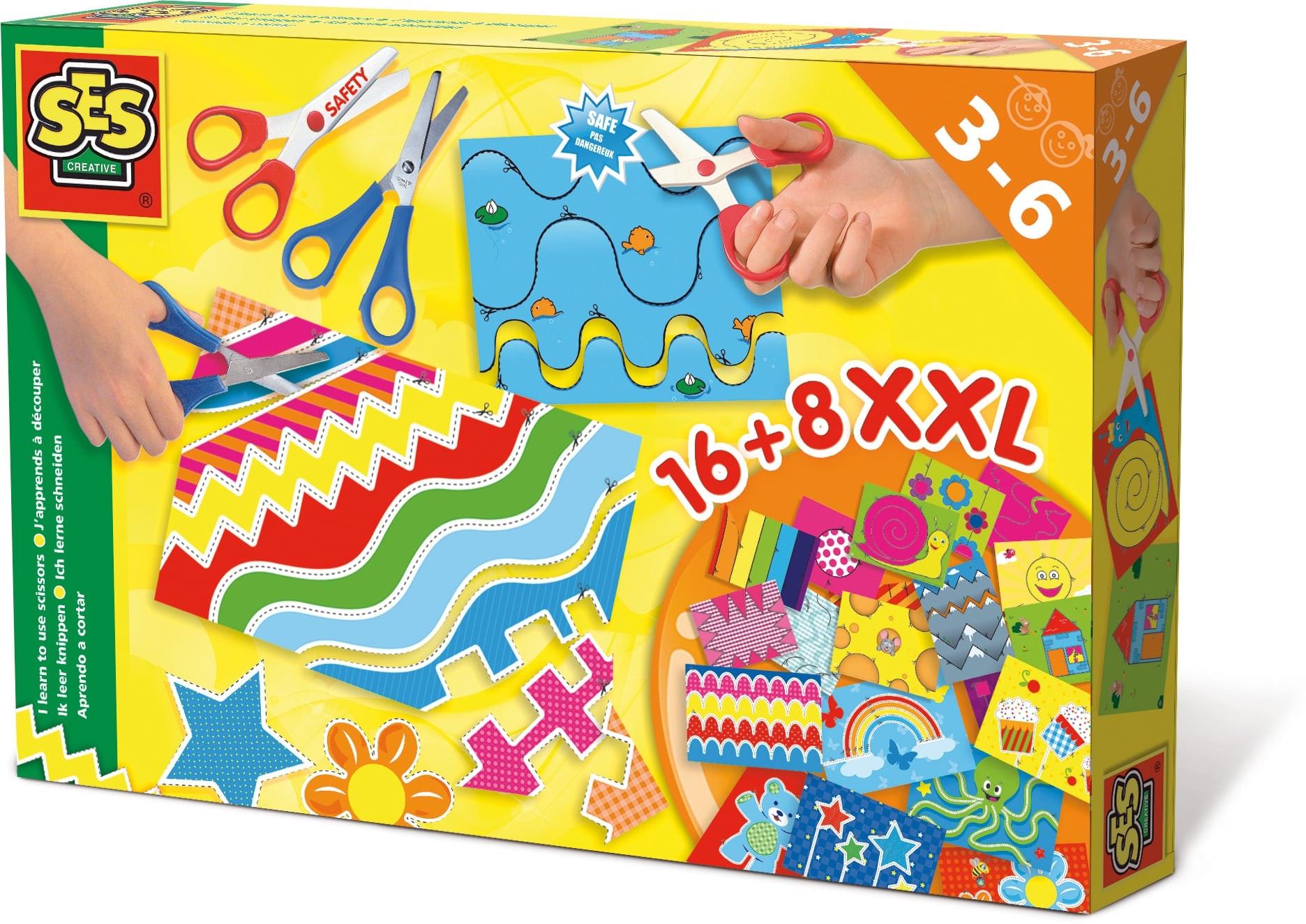SES Ik leer knippen XXL