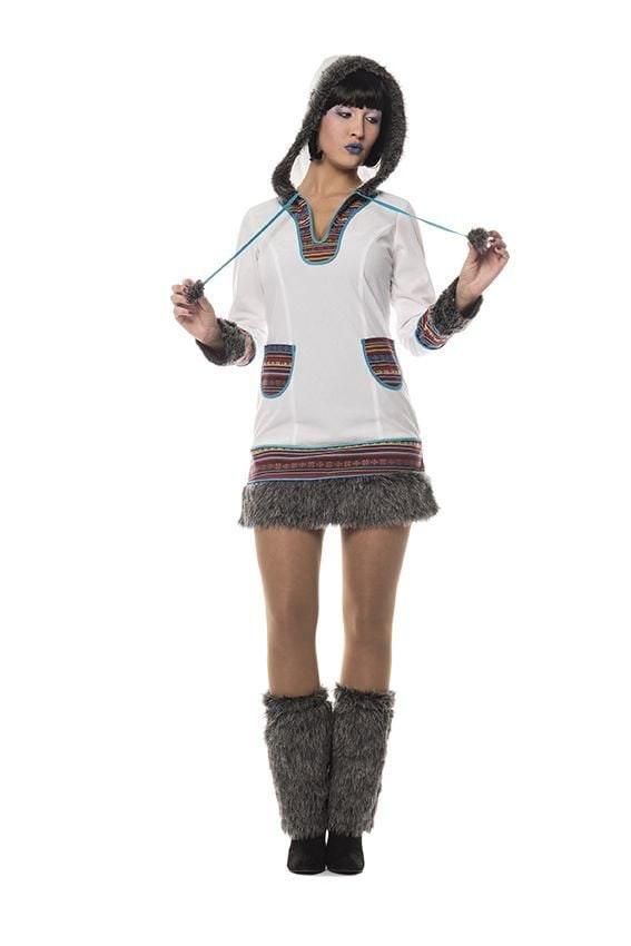 Eskimo lady.