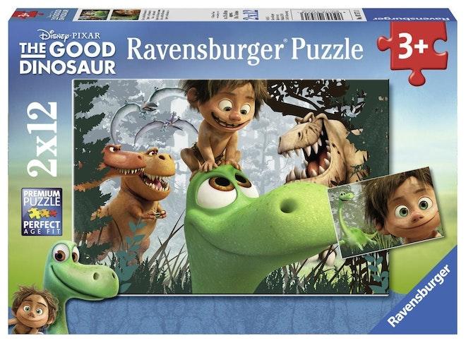 Ravensburger puzzel 2x12 stukjes The Good Dinosaur The Good Dinosaur op=op