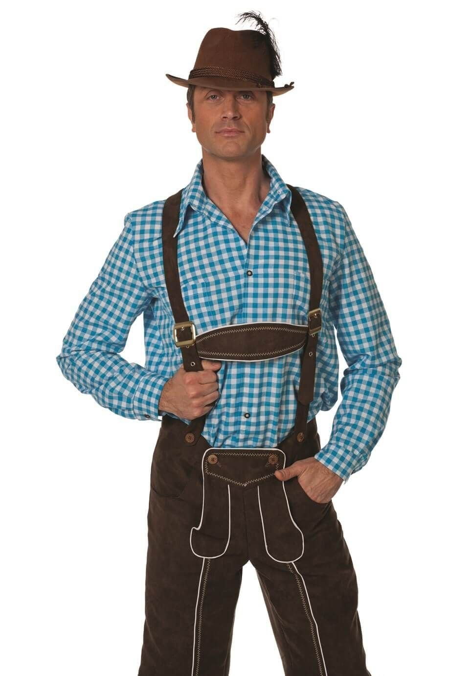 Overhemd Tiroler