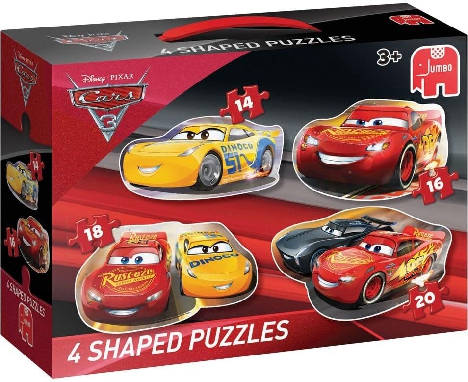 Disney Pixar Cars 3 vormpuzzels