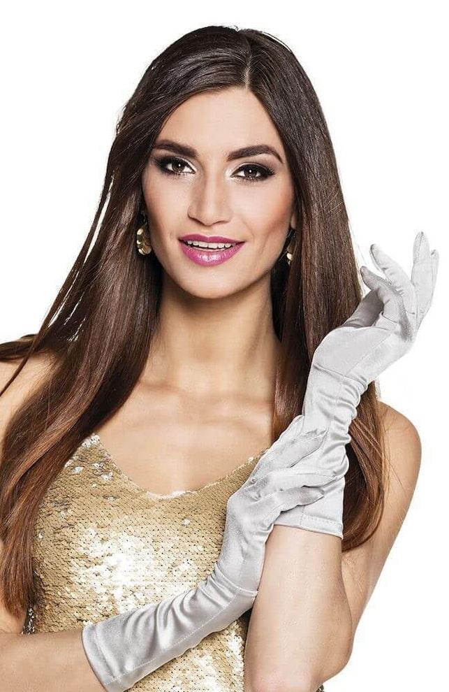 Handschoenen zilver