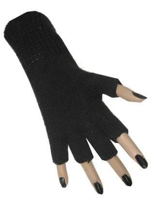 Handschoen vingerloos zwart