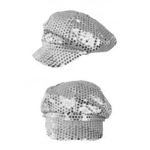 Pet glitter pailletten zilver