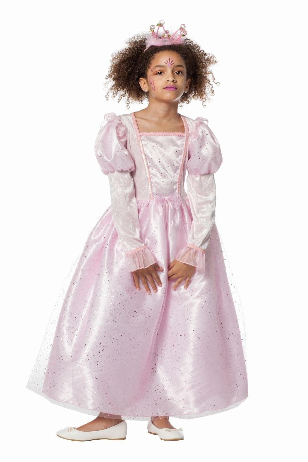 Prinses roze pailletten