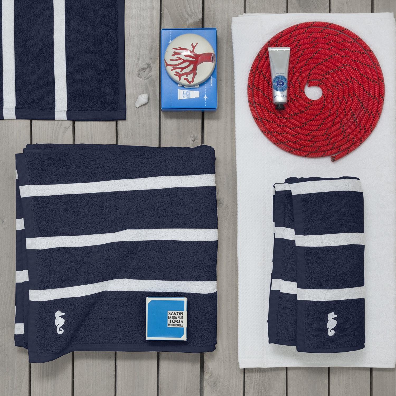 Seahorse Menton handdoek (set van 3) 60x110cm 550gr-m2