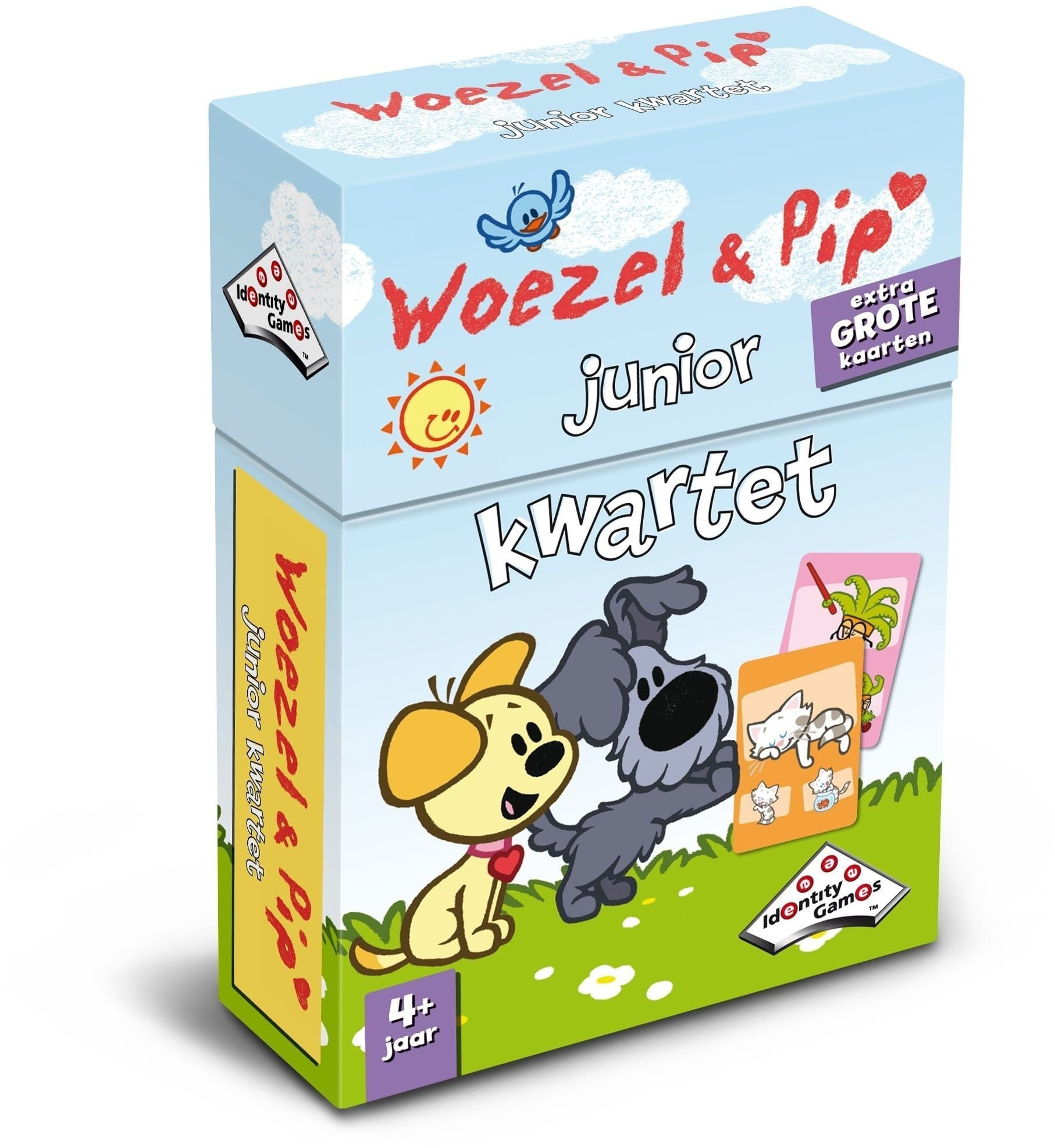Woezel en Pip Junior Kwartet Stuk