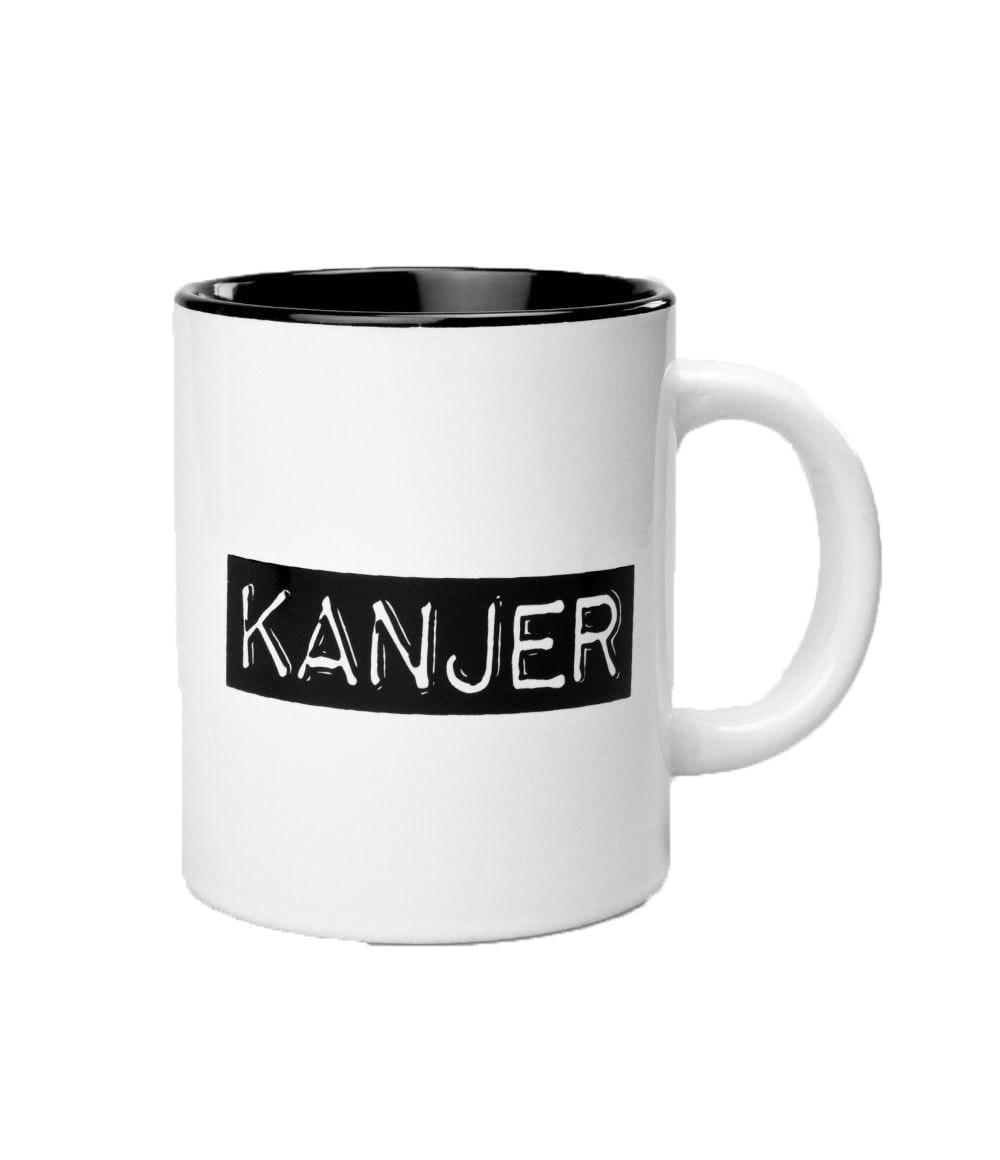 Black&White Mugs - Kanjer-White