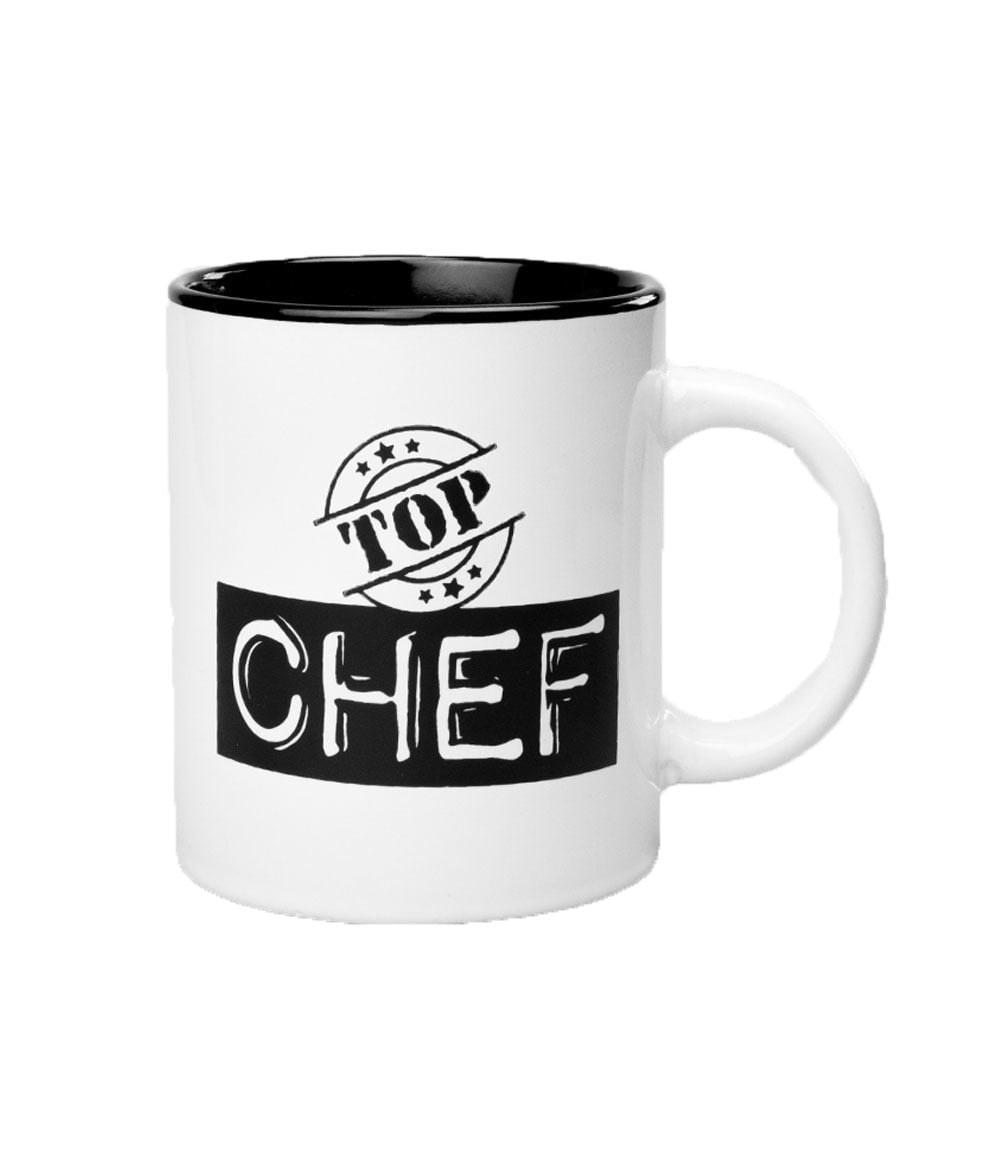 Black&White Mugs - Top Chef-White