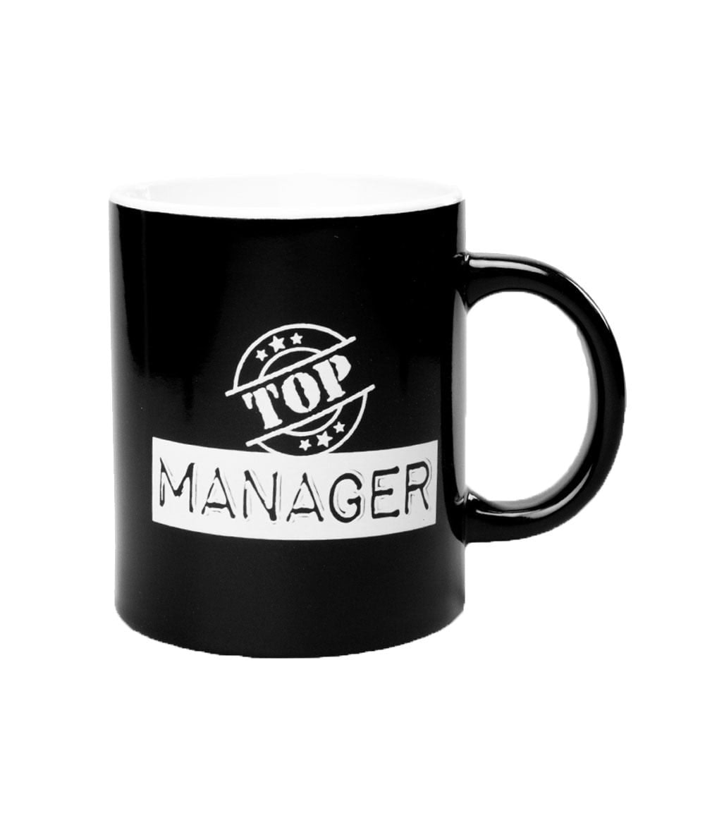 Black&White Mugs - Manager-Black