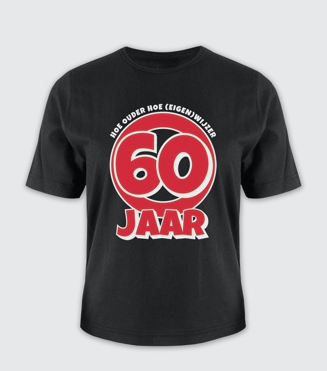 Leeftijd shirt - 60 jaar