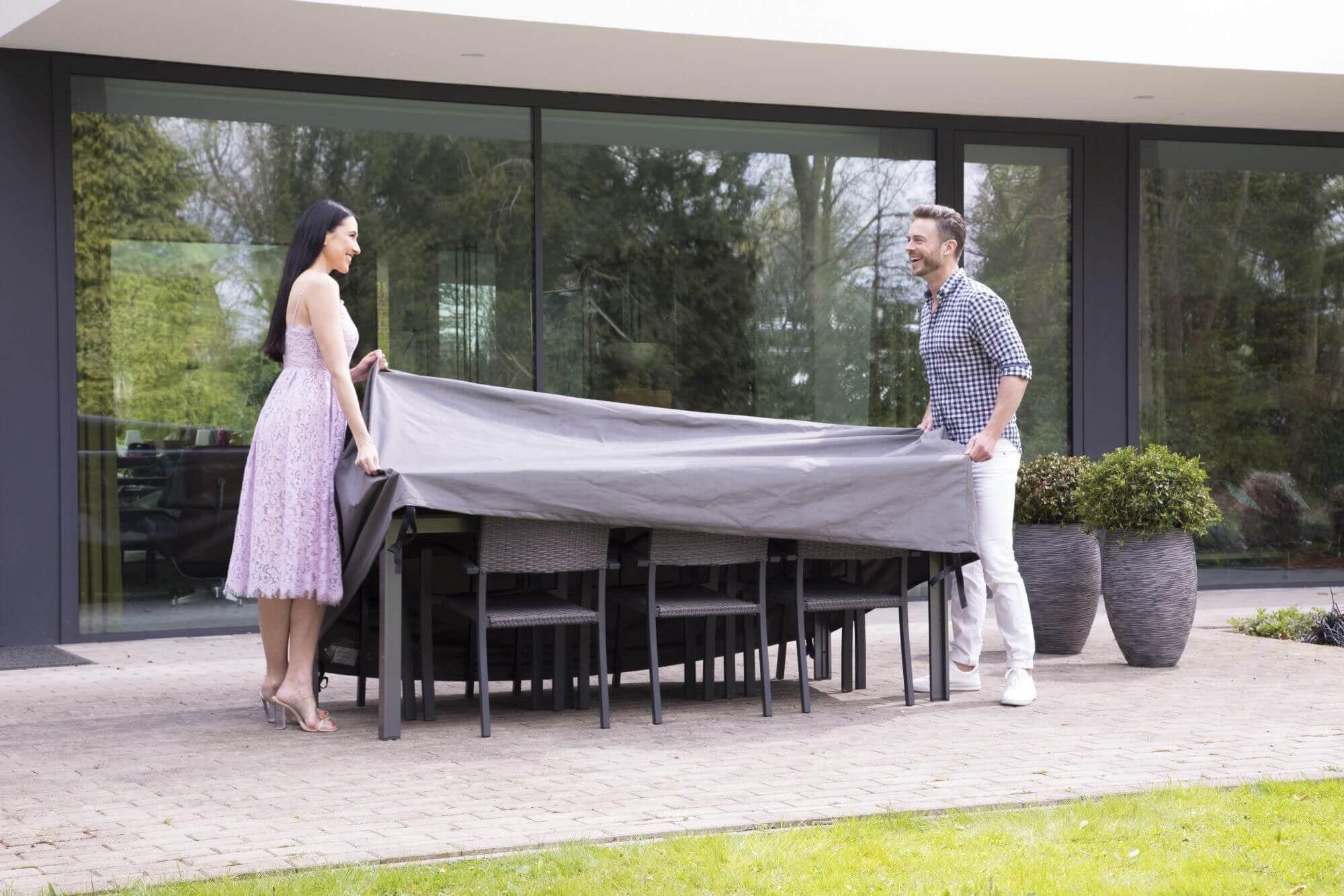 AllSeasons covers Beschermhoes Tuinset Large 245x150x95 online kopen