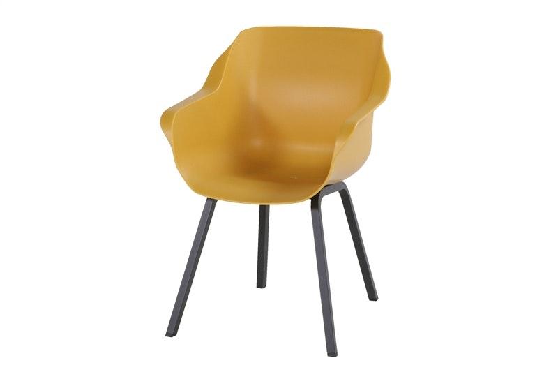 Sophie Element armchair Curry Yellow Hartman tuinstoel