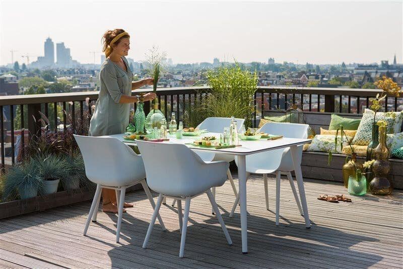 Sophie Studio dining armstoel Wit