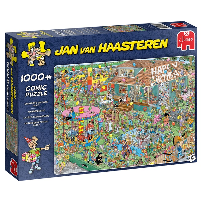 Jumbo puzzel Jan van Haasteren Kinderfeestje 1000 stukjes