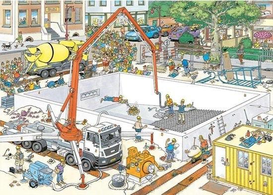 Jumbo puzzel Jan van Haasteren 1000 stukjes Bijna klaar