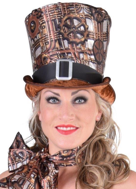 Hoge hoed steampunk 555 768