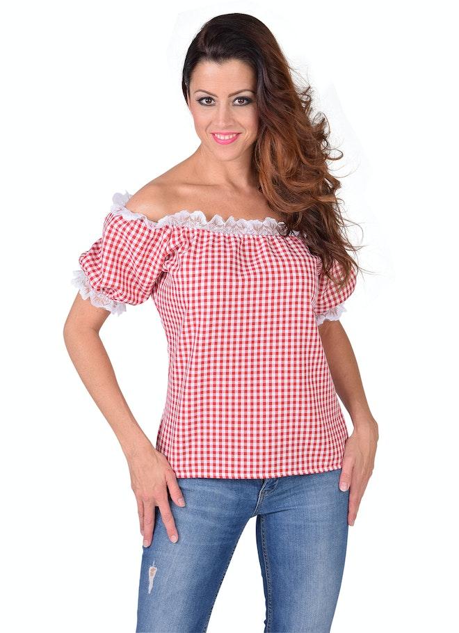 Bloes schouder vrij rood-wit 1160 1600