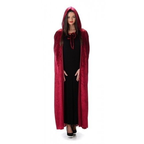 Red hooded cape 500 500