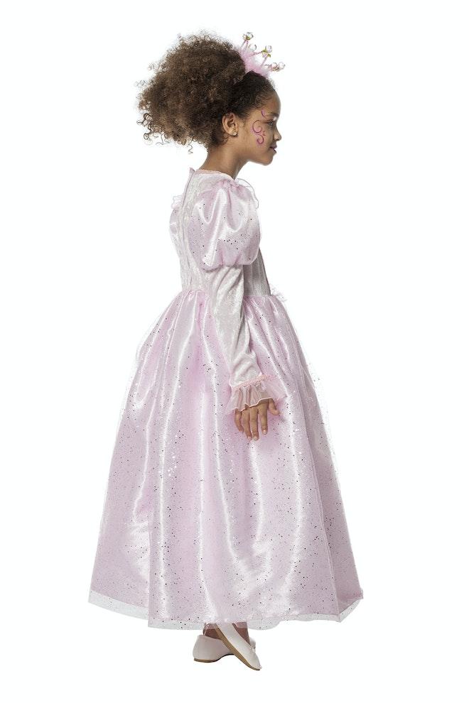 Prinses roze pailletten 1200 1800