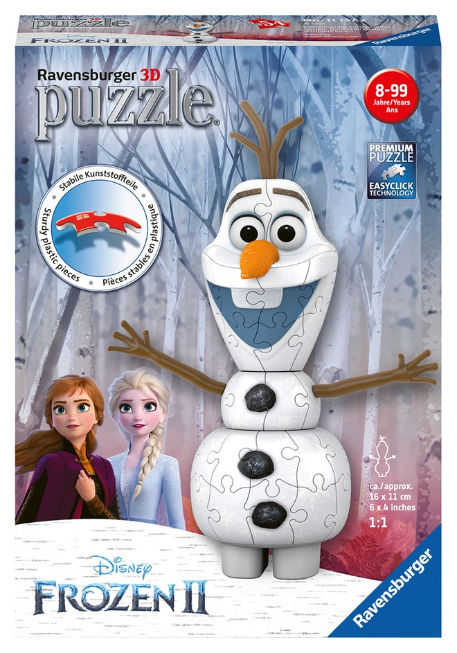 Ravensburger Disney Frozen pocketspel OP=OP 827 1181