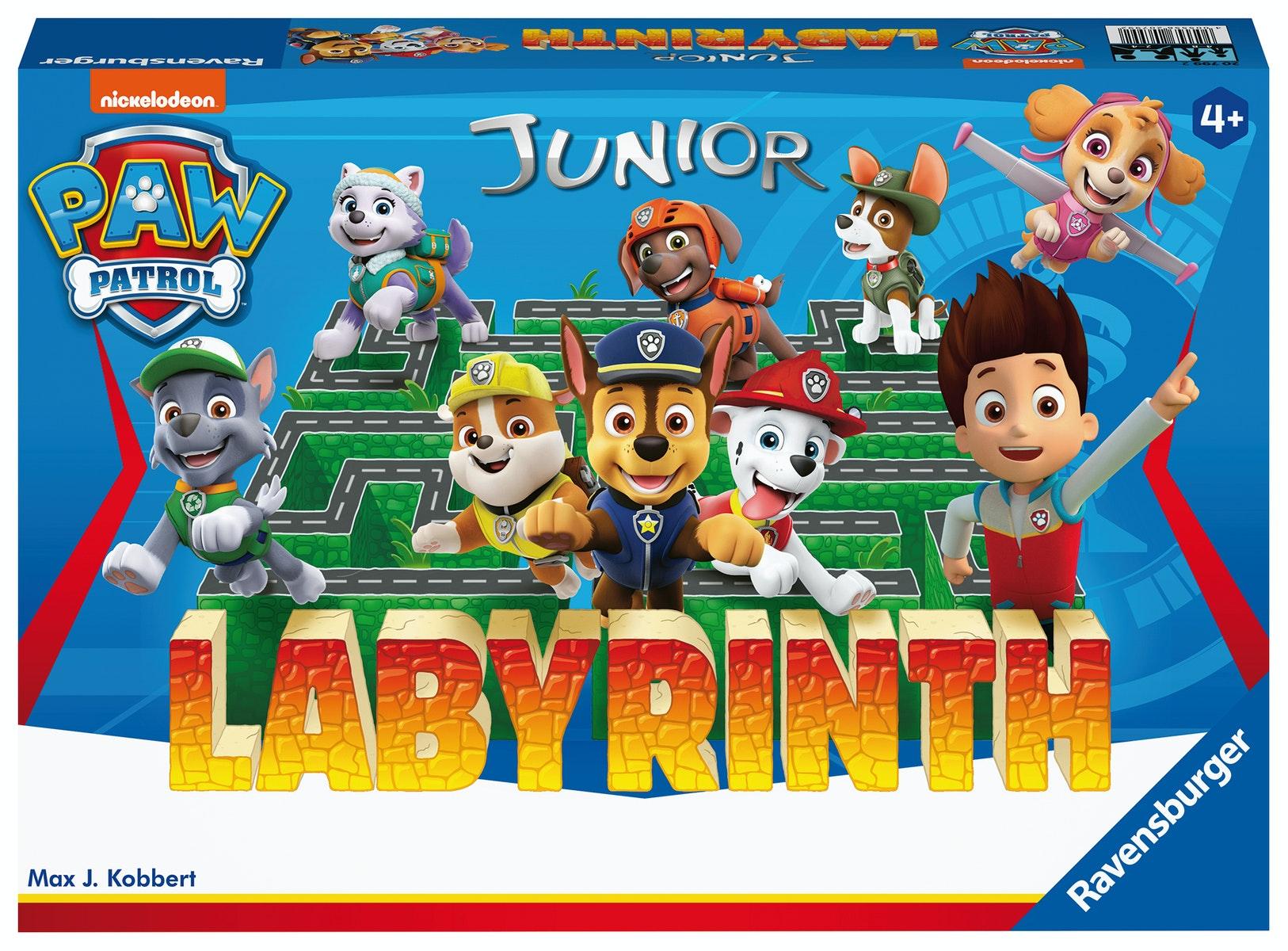 Ravensburger paw patrol labyrinth     paw patrol junior labyrinth   het slimme schuifspel. eenvoudig te ...