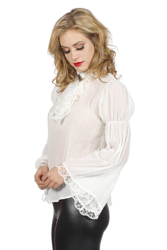 Piraten/gothic blouse, ecru 800 1200
